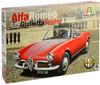 Italeri - 1/24 - Alfa Romeo Giulietta Spider 1300 (Plastic Model Kit)