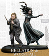 Harry Potter Miniatures Adventure Game - Bellatrix & Wormtail (Miniatures)