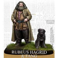 Harry Potter Miniatures Adventure Game - Rubeus Hagrid & Fang (Miniatures)