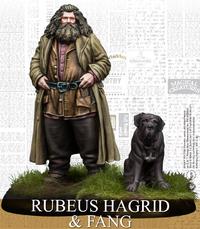 Harry Potter Miniatures Adventure Game - Rubeus Hagrid & Fang (Miniatures) - Cover