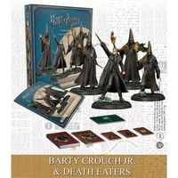 Harry Potter Miniatures Adventure Game - Barty Crouch Jr & Death Eaters (Miniatures) - Cover