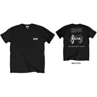 AC/DC - F&B About to Rock Men's T-Shirt - Black (Small) - Cover