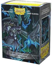 Dragon Shield - Stanard Sleeves - Matte Non-Glare 'King Athromark III' (100 Sleeves) - Cover