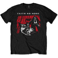 Faith No More - King For a Day Men's T-Shirt - Black (Small)