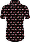 The Rolling Stones - Tongue & Text Men's Shirt - Black (Large)