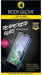 Body Glove Full Glue Tempered Glass Screen Protector for LG Q60 - Clear and Black