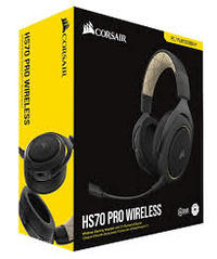 Corsair - HS70 PRO WIRELESS Gaming Headset - Cream - Cover
