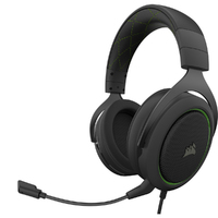 Corsair - HS50 PRO STEREO Gaming Headset - Green - Cover
