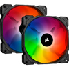 Corsair - iCUE SP140 RGB PRO Performance 140mm Dual Fan Kit with Lighting Node CORE