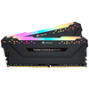 Corsair - VENGEANCE RGB PRO 16GB (2 x 8GB) DDR4 DRAM 3200MHz C16 Memory Module Kit - Black