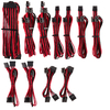 Corsair - Premium Individually Sleeved PSU Cables Pro Kit Type 4 Gen 4 - Red/Black