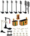 Hornby - Trackside Accessory Pack (Model Train Accessories)