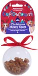 Rosewood - Christmas Meaty Star Treats Bauble Gift For Dogs (80g)