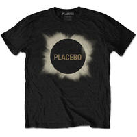 Placebo Eclipse Men's Black T-Shirt (XX-Large)