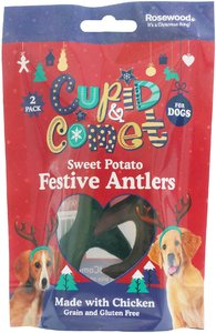 Rosewood - Sweet Potato & Chicken Festive Antlers (2pc) - Cover