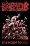 Kreator - Pleasure to Kill Textile Poster