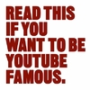 Read This If You Want To Be Youtube Famous - Will Eagle (Paperback)