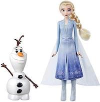 Frozen II - Olaf & Elsa Dolls - Cover