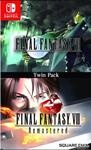 Final Fantasy VII & Final Fantasy VIII Remastered Twin Pack (US Import Switch)