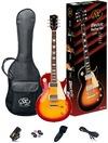 SX SE3-SK-CS Electric Guitar Les Paul Style Starter Pack (Cherry Sunburst)