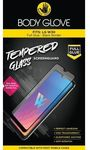 Body Glove Full Glue Tempered Glass Screen Protector for LG W30 - Clear and Black
