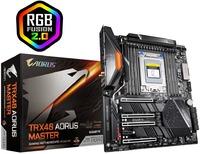 Gigabyte TRX40 Aorus Master AMD Ryzen Threadripper 3rd Gen Socket sTRX4 E-ATX Gaming Motherboard - Cover