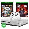 Microsoft - Xbox One S 1TB Console + Need for Speed: Payback + GTA V - White