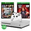 Microsoft - Xbox One S 1TB Console + W2K19 + GTA V - White