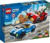 LEGO® City - Police Highway Arrest (185 Pieces)