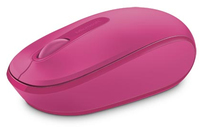 Microsoft - 1850 Wireless Mobile Mouse + FREE Licenced Wonder Woman Mouse Pad - Magenta