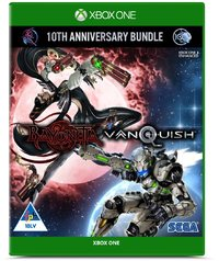 Bayonetta & Vanquish 10th Anniversary Bundle - Standard Plastic Case (Xbox One) - Cover