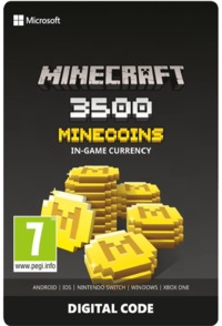 Minecraft 3500 Minecoins In-Game Currency Digital Code (Xbox One) - Cover