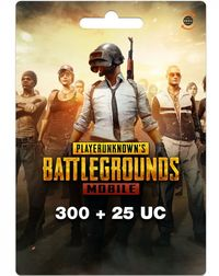 PUBG Mobile Unknown Currency (300+325) 325 (UC) Unknown Cash - Cover