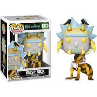 Funko Pop! Animation - Rick & Morty - Wasp Rick Pop Vinyl Figure