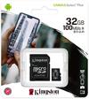 Kingston Canvas Select Plus 32GB MicroSDHC Class 10 UHS-I Memory Card - Black