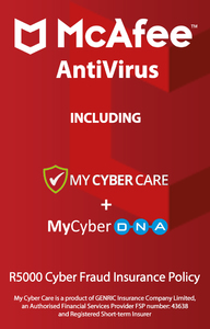 McAfee - AntiVirus for 10 Devices (PC Download) - Cover