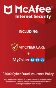 McAfee - Internet Security for 3 Devices (PC Download) - Cover