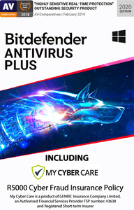 Bitdefender - AntiVirus Plus - 4 Devices (PC Download) - Cover