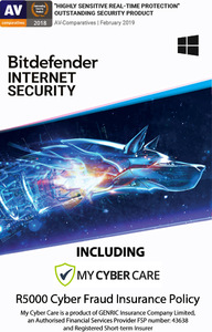 Bitdefender - Internet Security - 4 Devices (PC Download) - Cover