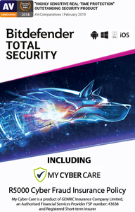 Bitdefender - Total Security - 5 Devices (PC Download) - Cover