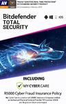 Bitdefender - Total Security - 5 Devices (PC Download)
