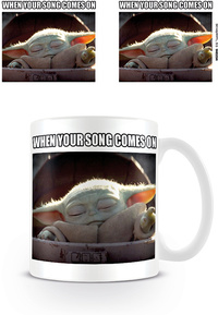Star Wars: The Mandalorian - When Your Song Comes On Mug - Cover