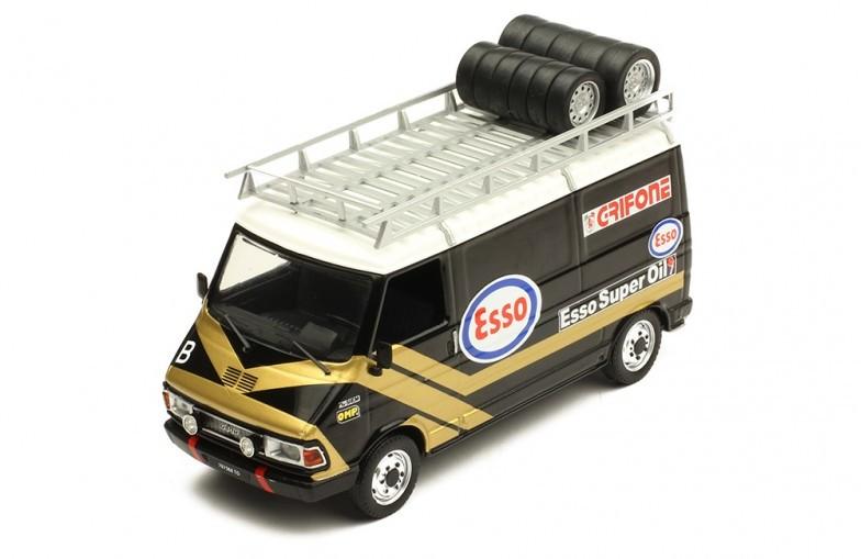 1986-1:43 IXO  *NEW* FIAT 242 Assistenza Esso Grifone
