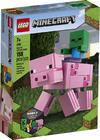 LEGO® Minecraft - BigFig Pig with Baby Zombie (159 Pieces)