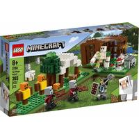 LEGO® Minecraft - The Pillager Outpost (303 Pieces)