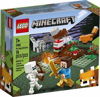 LEGO® Minecraft - The Taiga Adventure (74 Pieces) - Cover