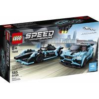 LEGO® Speed Champions - Formula E Panasonic Jaguar Racing GEN2 car & Jaguar I-PACE eTROPHY (565 Pieces)
