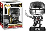 Funko Pop! Star Wars - Rise of Skywalker - Knight of Ren Scythe (Hematite Chrome) - Cover