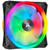 Corsair - iCUE QL140 RGB 140mm PWM Dual Fan Kit with Lighting Node CORE