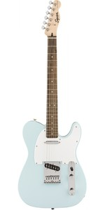 Squier FSR Bullet Telecaster Electric Guitar (Daphne Blue) - Cover